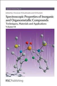 Spectroscopic Properties of Inorganic and Organometallic Compounds