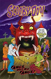 Scooby-Doo in Fangs, But No Fangs!