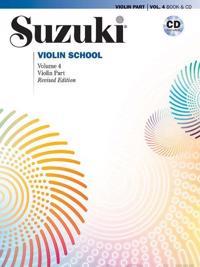 Suzuki Violin School: Violin Part 4 [With CD (Audio)]