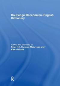 Dic Routledge Macedonian-English Dictionary