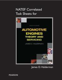 NATEF Correlated Task Sheets for Automotive Engines