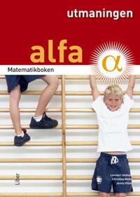 Matematikboken Alfa Utmaningen