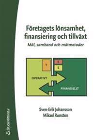 Företagets lönsamhet, finansiering och tillväxt : mål, samband och mätmetoder