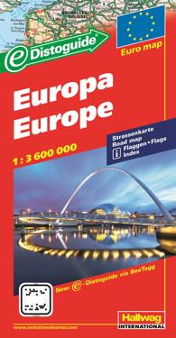 Rand McNally Europe Distoguide