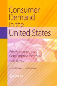 Consumer Demand in the United States