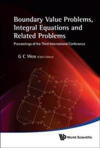 Boundary Value Problems, Integral Equations and Related Problems