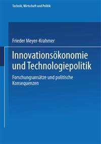 Innovationsokonomie Und Technologiepolitik