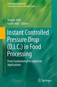 Instant Controlled Pressure Drop D.i.c. in Food Processing