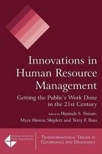 Innovations in Human Resource Management