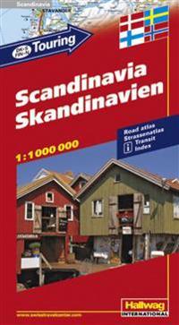 Scandinavia/Skandinavien : 1-1 000 000. 2000-2002