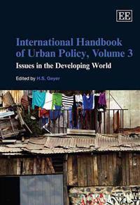 International Hanbook of Urban Policy