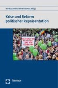 Krise Und Reform Politischer Reprasentation