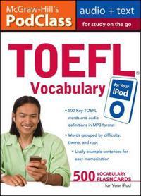 McGraw-Hill's PodClass TOEFL Vocabulary
