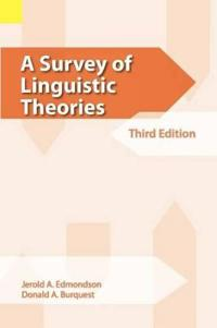 A Survey of Linguistic Theories