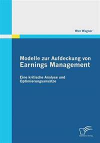 Modelle Zur Aufdeckung Von Earnings Management