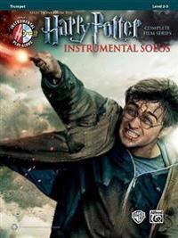 Harry Potter Instrumental Solos: Trumpet, Book & CD