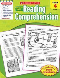 Scholastic Success with Reading Comprehension, Grade 4