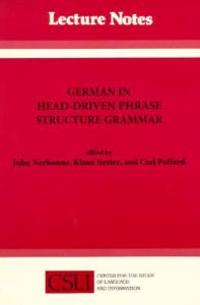 German in Head-Driven Phrase Structure Grammar
