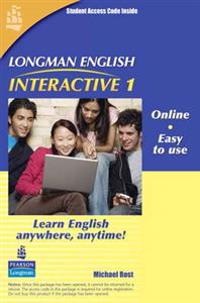 Longman English Interactive 1, Online Version, British English (Access Code Card)