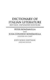 Dictionary of Italian Literature, 2nd Edition