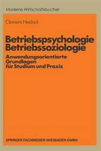 Betriebspsychologie/Betriebssoziologie