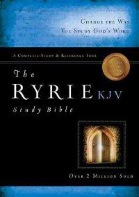 Ryrie Study Bible-KJV [With DVD ROM]