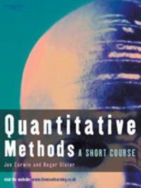 Quantitative Methods: Short Course