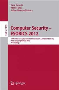 Computer Security -- ESORICS 2012