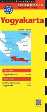Periplus Travel Map Indonesia Regional Map