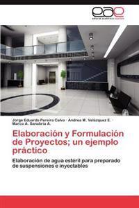 Elaboracion y Formulacion de Proyectos; Un Ejemplo Practico