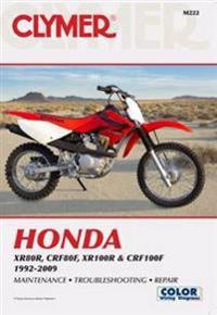 Clymer Honda XR80R, CRF80F, XR100R & CRF100F 1992-2009