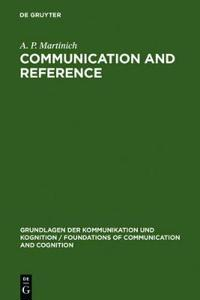 Communication and Reference