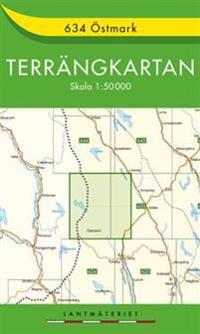 634 Östmark Terrängkartan : 1:50000