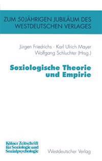 Soziologische Theorie Und Empirie