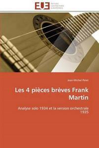 Les 4 Pi�ces Br�ves Frank Martin