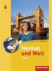 Heimat und Welt 6. Schülerband. Sachsen