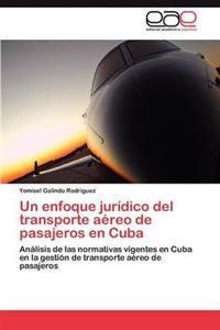Un Enfoque Juridico del Transporte Aereo de Pasajeros En Cuba