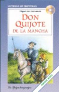 Don Quijote de la Mancha + CD, förkortad