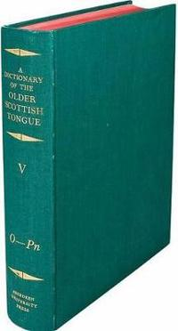 A Dictionary of the Older Scottish Tongue