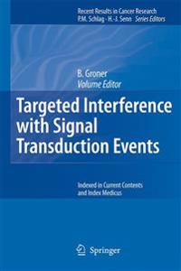 Targeted Interference with Signal Transduction Events