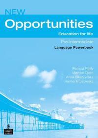 Opportunities Global Pre-Intermediate Language Powerbook NE