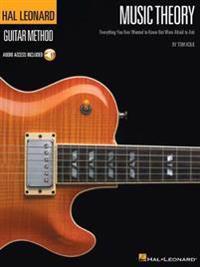 Hal leonard guitar method - music theory (book/online audio)