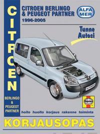 Citroen Berlingo amp; Peugeot Partner 1996-2005