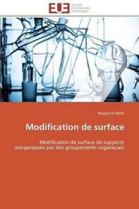 Modification de Surface