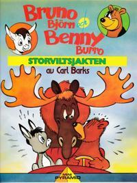 Bruno Björn och Benny Burro Storviltsjakten