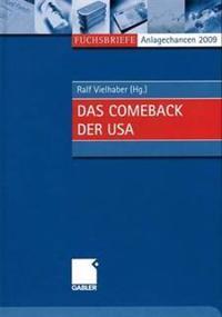 Anlagechancen 2009: Das Comeback Der USA