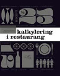 Kalkylering i restaurang