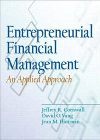 Entrepreneurial Financial Management