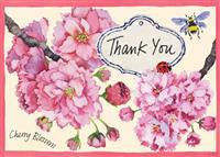 Cherry Blossom Thank You Notecards