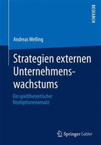 Strategien Externen Unternehmenswachstums